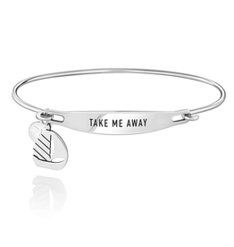 Chamilia Take Me Away ID Bangle - SS - M/