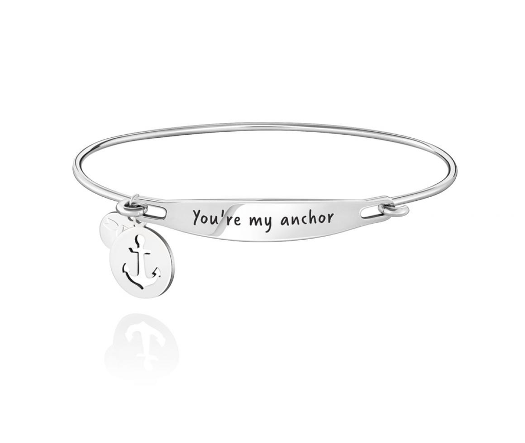 Chamilia You're My Anchor ID Bangle - SS - S/M