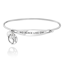 Chamilia No Place Like Om ID Bangle - SS - S/M