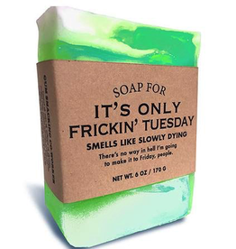 Personal Care Whiskey River Soap Company-Frickin Tuesday - Soap
