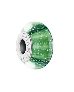 Chamilia Natural Elements - Rain Forest Green Murano Glass