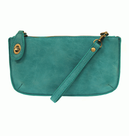 Joy Susan - Pacific Blue Mini Crossbody Wristlet Clutch