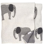Mud Pie Knit Elephant Blanket