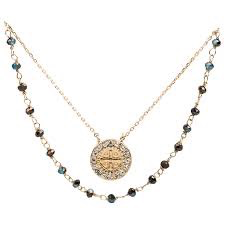 My Saint My Hero - Blessings & Grace Necklace - Gold