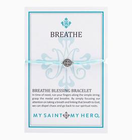 My Saint My Hero - Breathe Bracelet-Mint