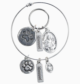 My Saint My Hero - Pet Blessing Set (Bracelet + Tag)