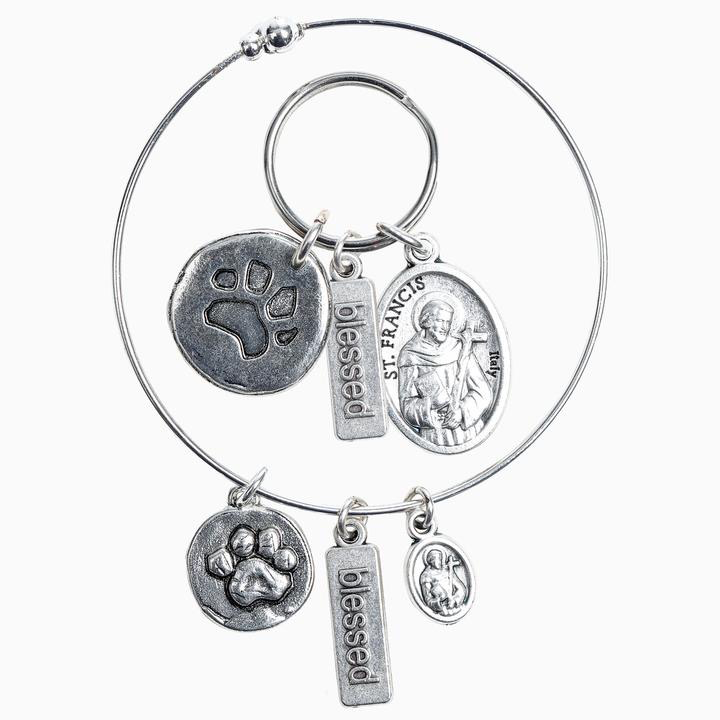 My Saint My Hero - Pet Blessing Set (Bracelet + Tag)