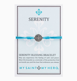 My Saint My Hero - Serenity Bracelet (Turquoise, Silver)
