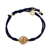 My Saint My Hero Serenity Bracelet- Navy/Gold