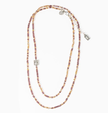 My Saint My Hero - Serenity Morse Code Prayer Necklace