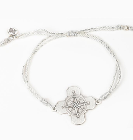 True North Bracelet - Metallic Silver & Silver