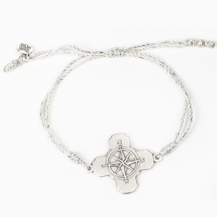 True North Bracelet - Metallic Silver & Silver
