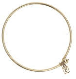 Waxing Poetic Bangle Bracelet - Brass