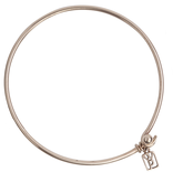Waxing Poetic Bangle Bracelet - Bronze