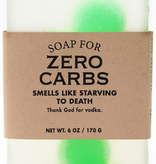General Gift Whiskey River Soap Company - Zero Carbs - Soap