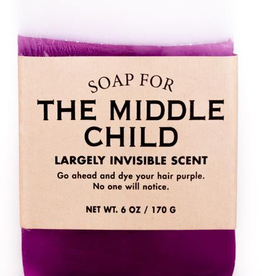 General Gift Whiskey River Soap Company - The Middle Child - Soap