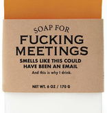 Whiskey River Soap Company - F*** Meetings - Soap