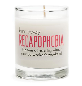 General Gift Whiskey River Soap Company - Recapophobia Candle