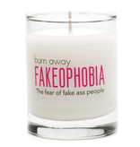 General Gift Whiskey River Soap Company - Fakeophobia Candle