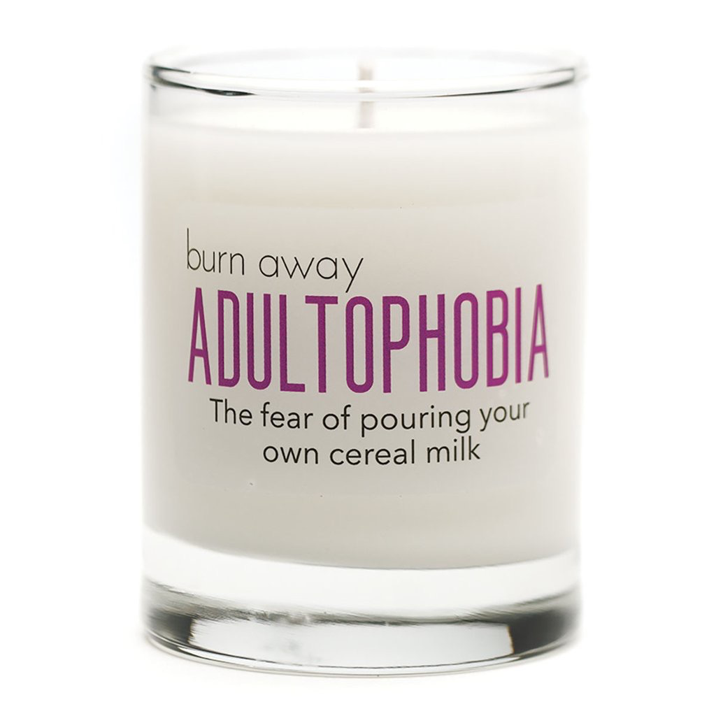 General Gift Whiskey River Soap Company - Adultophobia Candle