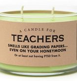 General Gift Whiskey River Soap Company - Teachers - Candle