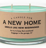 Whiskey River Soap Company - A New Home - Candle