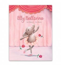 Jellycat - Elly Ballerina Book