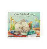 Jellycat Wake Up Little Owl Board Book