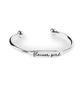 Mud Pie Flower Girl Cuff Bracelet