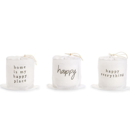 Mud Pie Candle in a Bag - Happy Everything