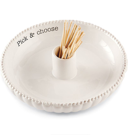 "Mud Pie ""Take Your Pick "" Toothpick Set"