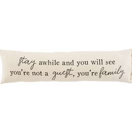 Mud Pie Guest Long Pillow