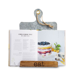 "Mud Pie ""Eat"" Cookbook Holder"