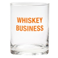About Face Designs - Whiskey Rocks Glass