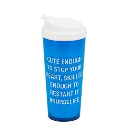 About Face Designs - #Nurselife Travel Mug