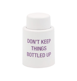 About Face Designs - Bottled Up Wine Stopper