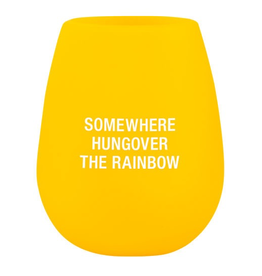 About Face Designs - Rainbow Silicone Wine Glass
