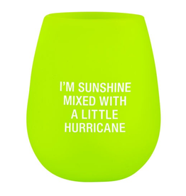 About Face Designs - Hurricane Silicone Wine Glass