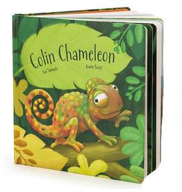 Jellycat - Colin Chameleon Book