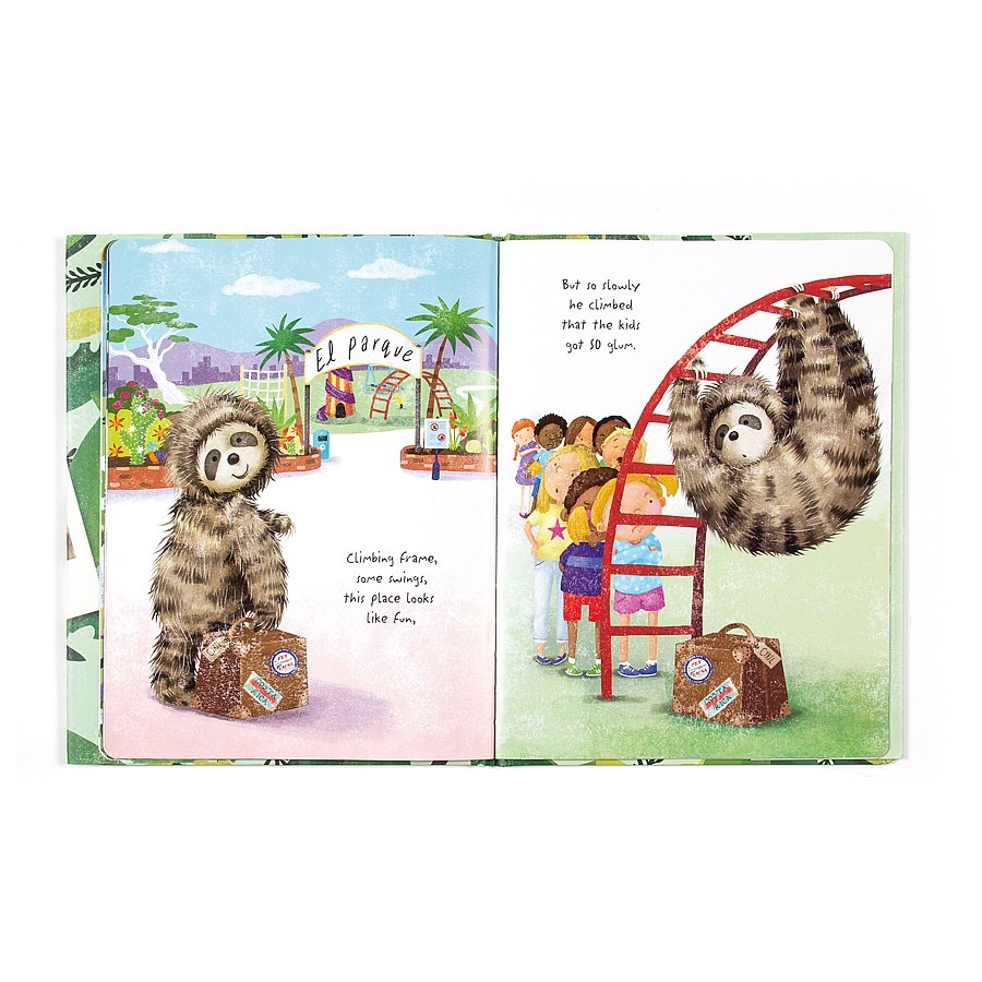 Jellycat - Cyril's Big Adventure Book