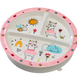 Ore Originals - Clementine the Bear Divided Suction Plate