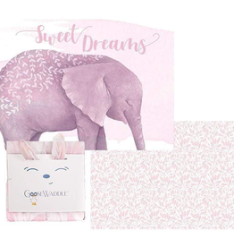 GooseWaddle - Poppy & Elephant Receiving Blankets