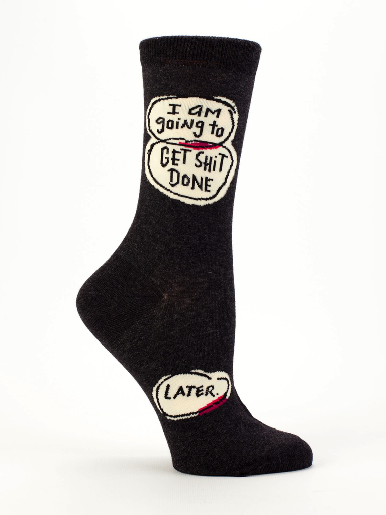 "Blue Q - ""Get Shit Done"" Men's Socks"