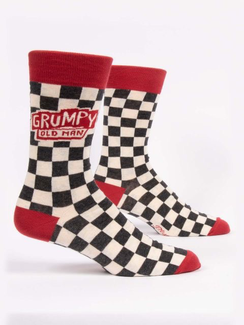 "Blue Q - ""Grumpy Old Man"" Men's Socks"