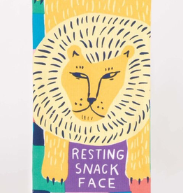 "Blue Q - ""Resting Snack Face"" Dish Towel"