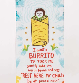 """Blue Q - """"I Want a Burrito"""" Dish Towel"""