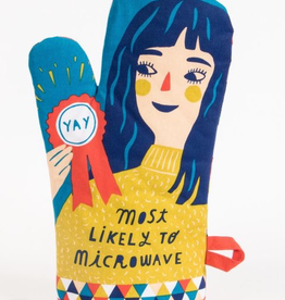 "Blue Q - ""Most LIkely to Microwave"" Oven Mitt"