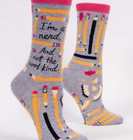 "Blue Q - ""I'm a Nerd"" Women's Socks"