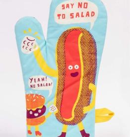 """Blue Q - """"Say No to Salad"""" Oven Mitt"""