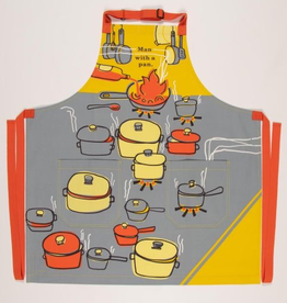 "Blue Q - ""Man With a Pan"" Apron"